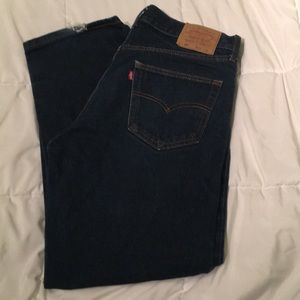 Levi's 501's Button Fly